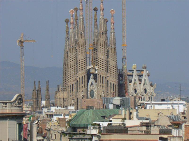 établissement Bellevue voyage Barcelone 2009/2010 - 1