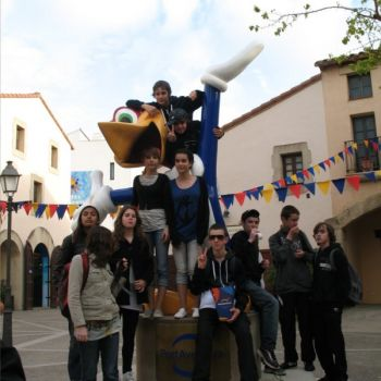 établissement Bellevue voyage Barcelone 2009/2010 - 6