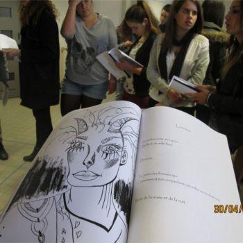 établissement Bellevue actualités arts plastiques 30 avril 2015 - 1