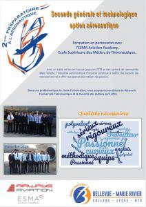 Plaquette 2nde aero 2020
